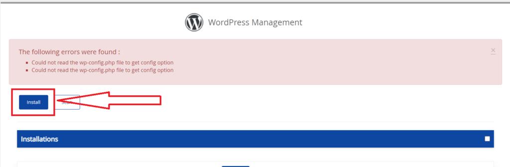 wordpress-install-using-cpanel